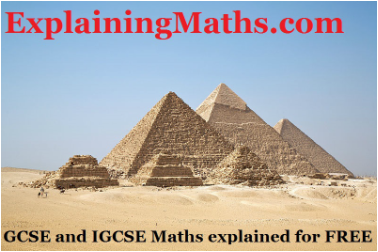 explainingmaths.com will help you for you maths revision when  preparing fo your igcse gcse mats paper